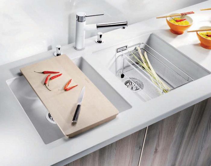 Blanco lavabo saldato misura arredamenti
