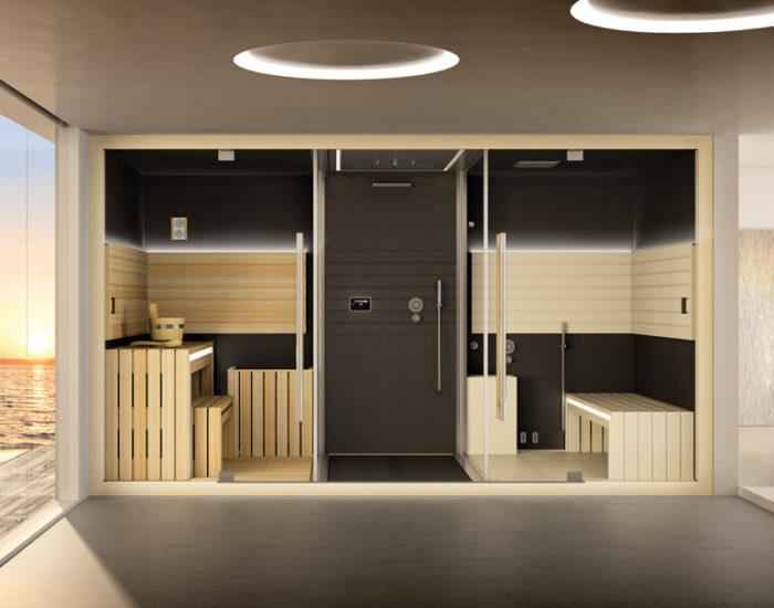 jacuzzi doccia sauna hammam sasha misura arredamenti