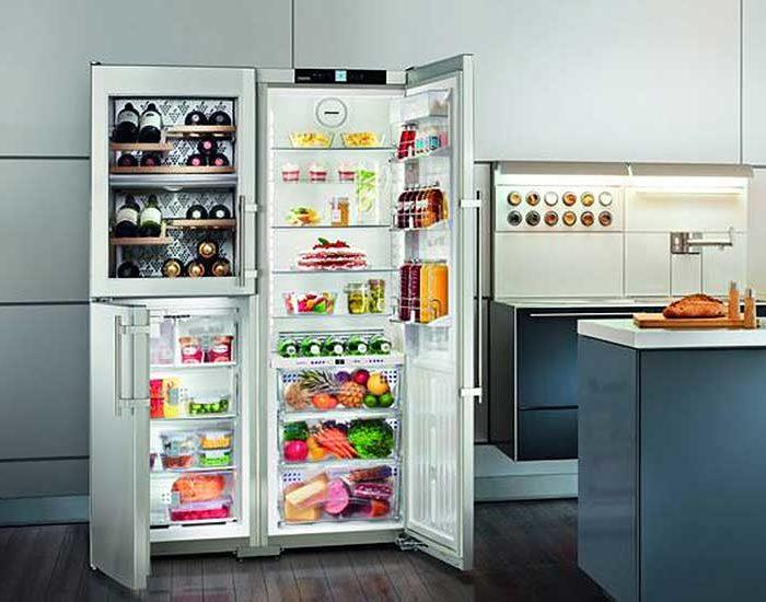 liebherr sidebyside frigoriferomisura arredamenti