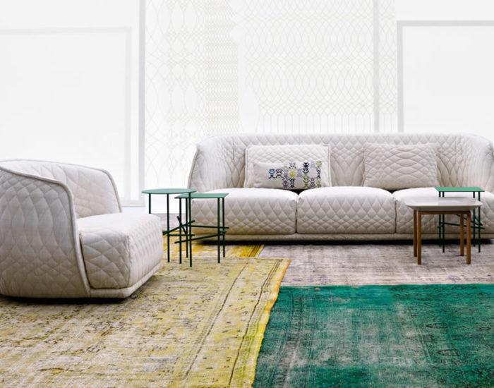 moroso divano redondo misura arredamenti