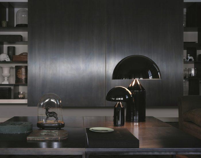 oluce lampadadatavolo illuminazione misura arredamenti