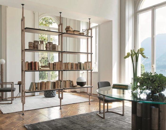 porada sistemacomponibile libreria aria misura arredamenti