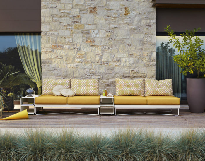 roberti rattand outdoor divano coralreef misura arredamenti