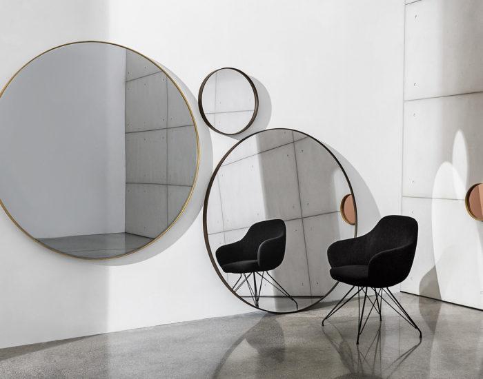 sovet specchio visualround misura arredamenti