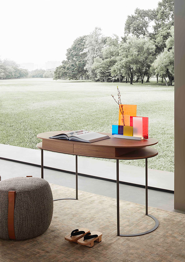 Lema Ortis desk design Gabriele and Oscar Buratti