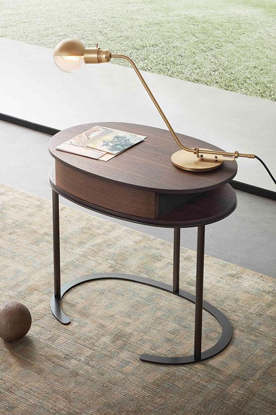 Lema Ortis side table design Gabriele and Oscar Buratti