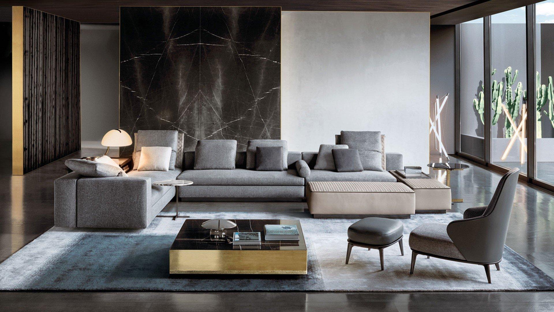 Negozi Mobili Design Torino: Progettazione e interior design di una villa fuo...