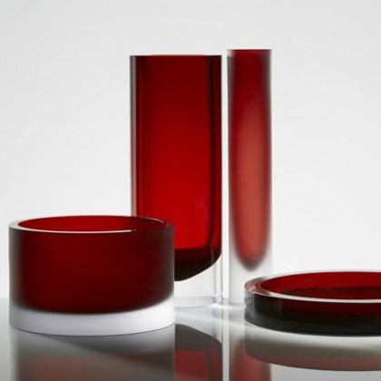Vasi in vetro anna torf misura arredamenti for Vasi rossi moderni