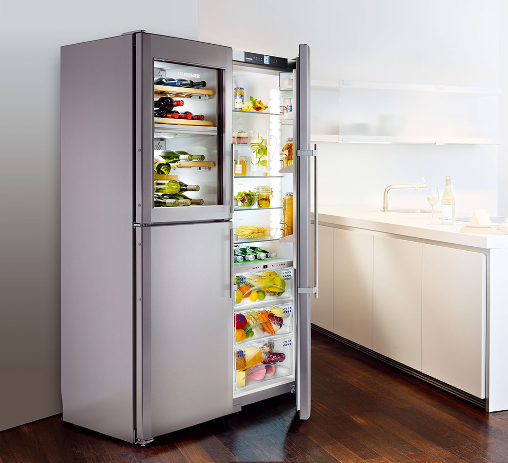 frigoriferi liebherr misura arredamenti. Black Bedroom Furniture Sets. Home Design Ideas
