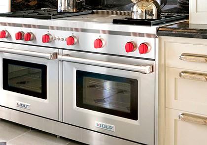 Elettrodomestici wolf misura arredamenti - Blocco cucina acciaio ...